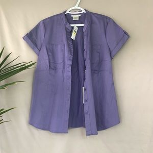 🧡 NWT - short sleeve blouse
